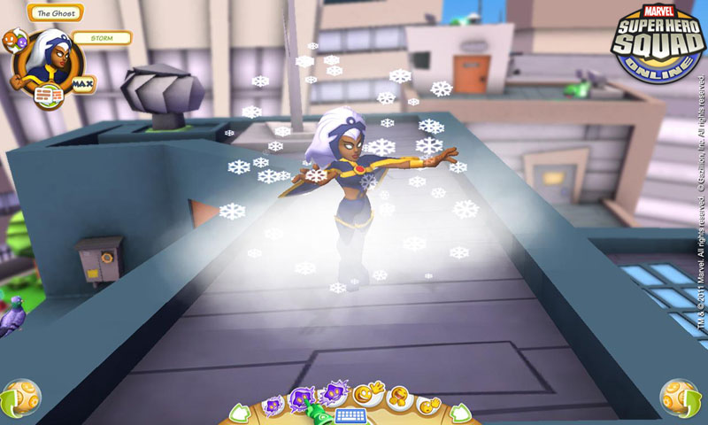 Super Hero Squad Online Screenshot 1