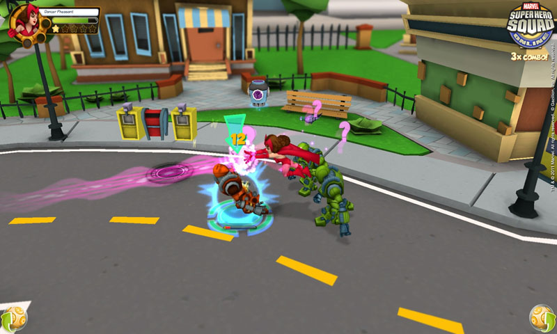 Super Hero Squad Online Screenshot 2