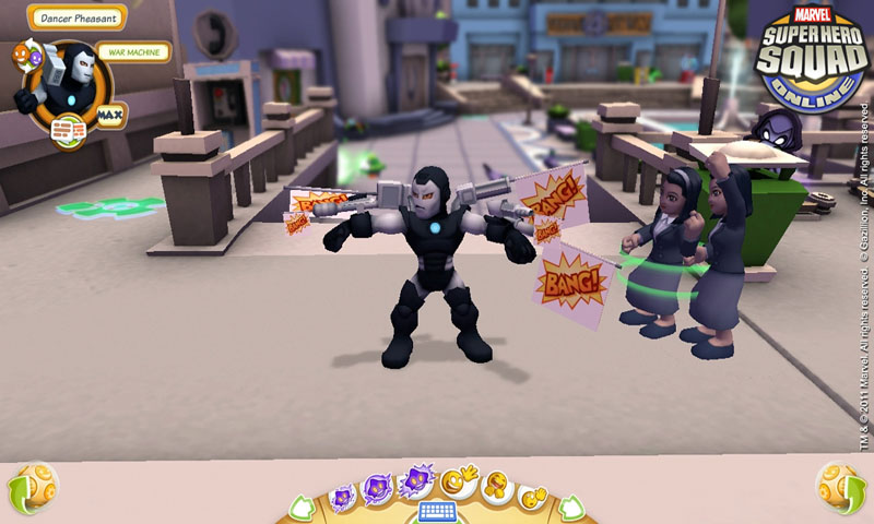 Super Hero Squad Online Screenshot 3